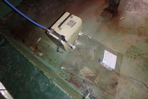 金属回収工場の臭気測定