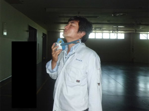 人間の鼻の感応による測定