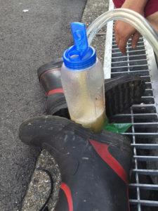 排水の採取