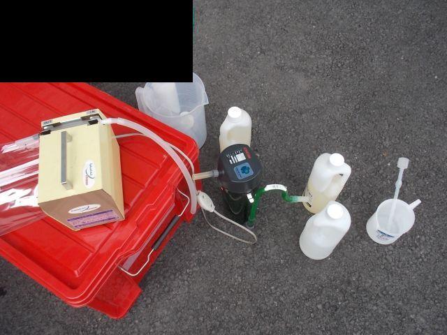 幾つかの消臭剤のマッチングテスト