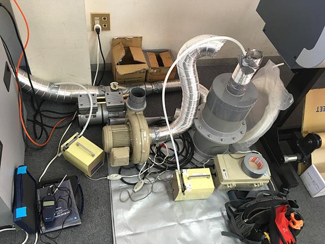 活性炭で臭気を低減することが可能か検証テスト