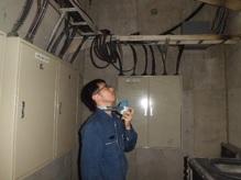 臭気判定士の感応による臭気測定