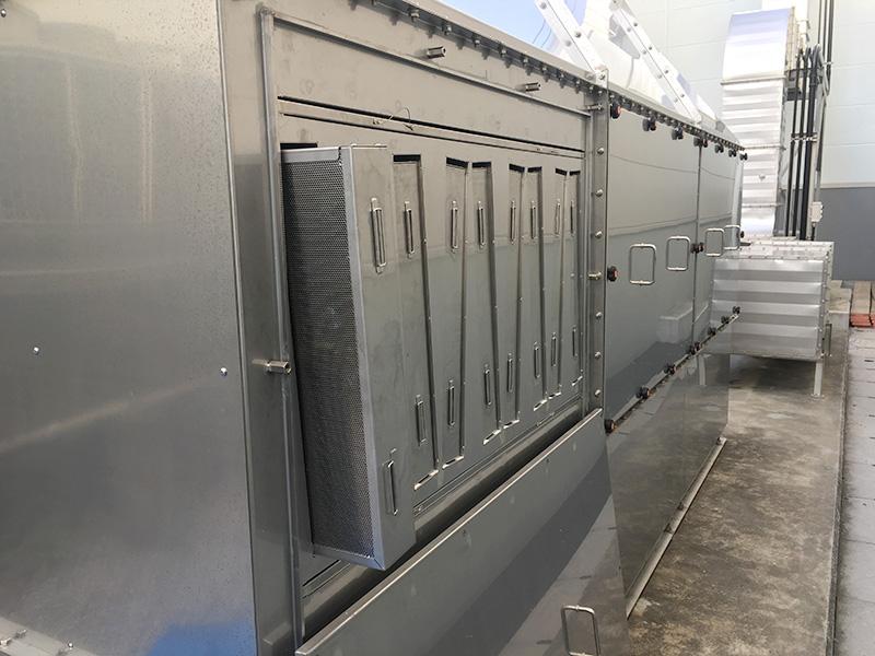 大型活性炭脱臭装置デオキーパー