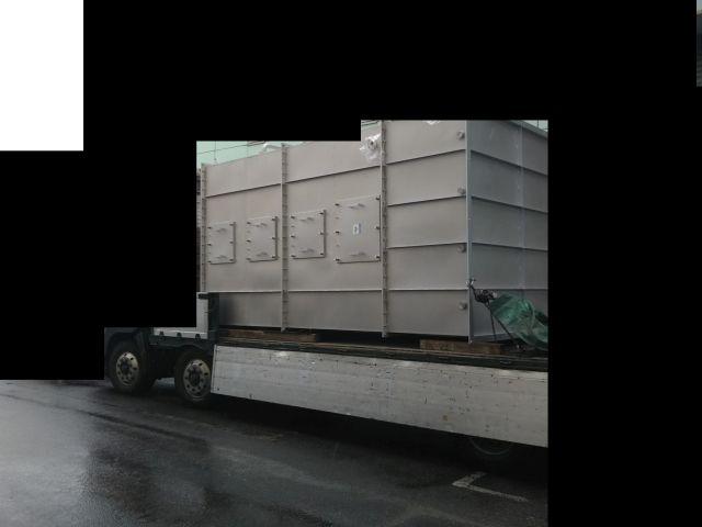 ハイブリッドスクラバー 運搬