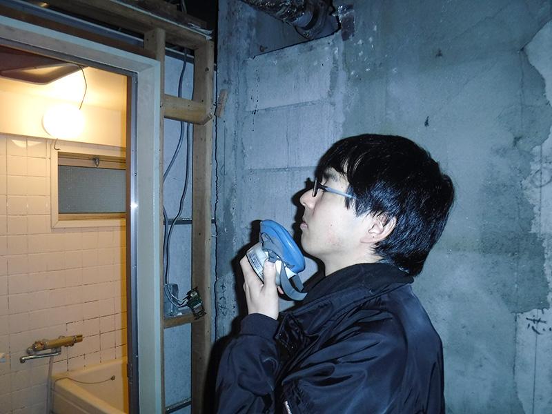 臭気判定士による感応検査
