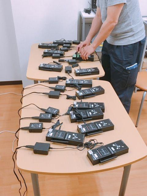 臭気センサー受信機&充電器等