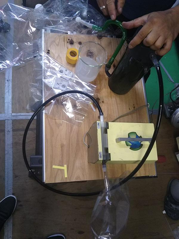 消臭剤テスト