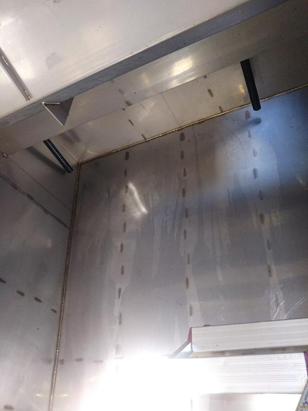 ハイブリッドスクラバー脱臭装置のメンテナンス