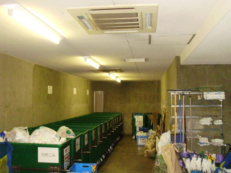 ゴミ置き場の臭気対策