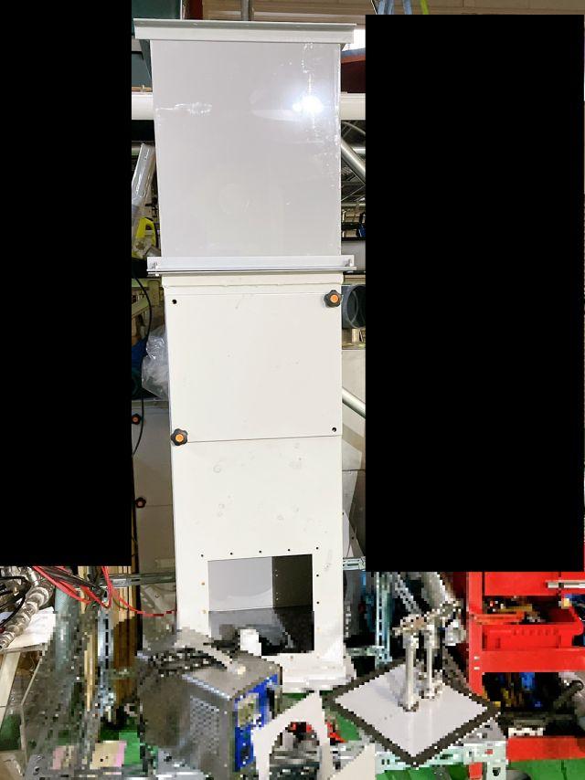 脱臭装置のデモテスト機