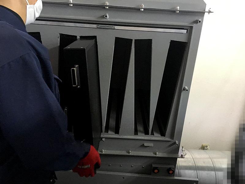 活性炭フィルターケース デオキーパー本体へ