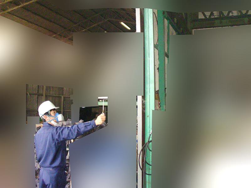 工場内の臭気調査